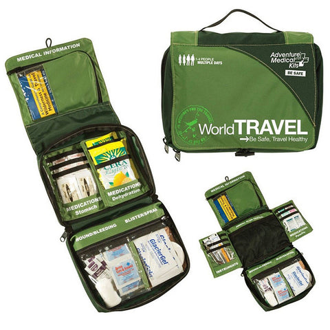Adventure Medical Kit - World Travel contents