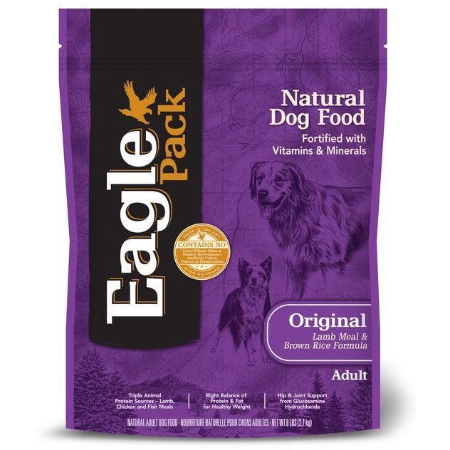 Eagle Pack Original Lamb & Brown Rice 6Lbs