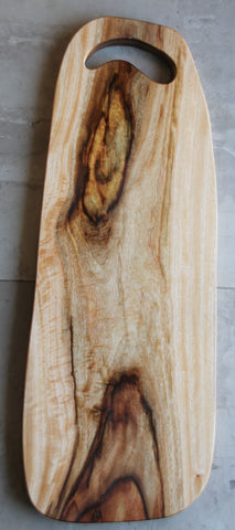 Wooden serving platter - Waterfall