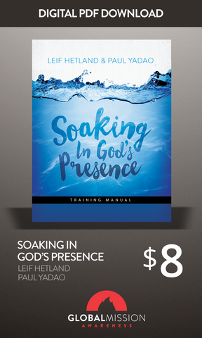 Soaking In God's Presence Manual (PDF)