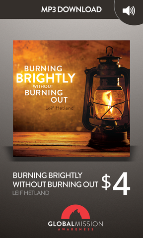 Burning Brightly Without Burning Out
