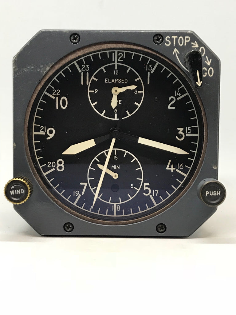 Vintage Jaeger LeCoultre ABU 1/A  Boeing Aircraft Clock
