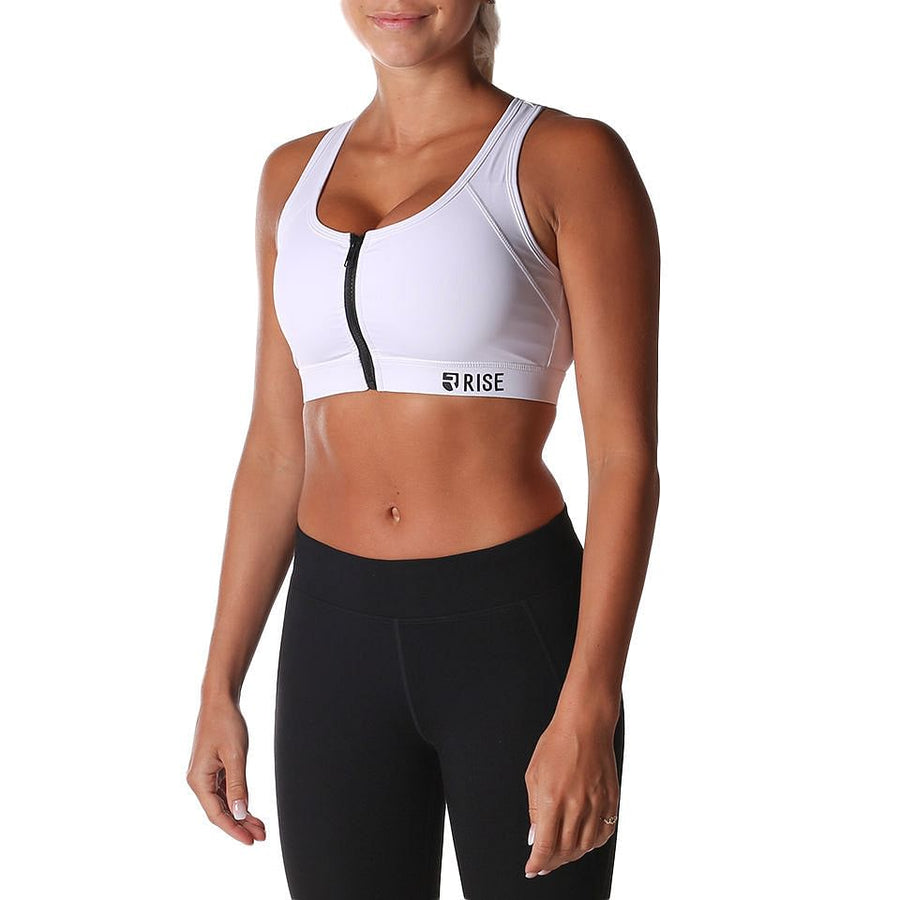 Equinox Sports Bra – White (max. support)