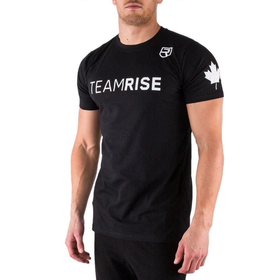 Team Rise T-Shirt – Black