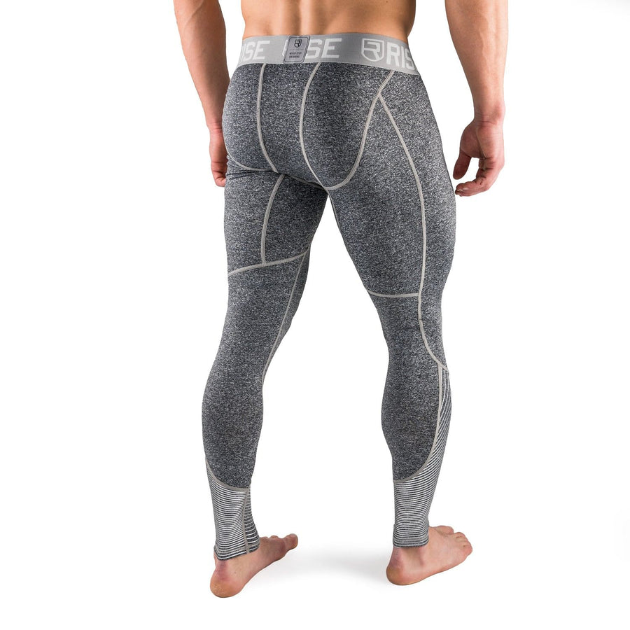 Active Dry Compression Pants - Grey