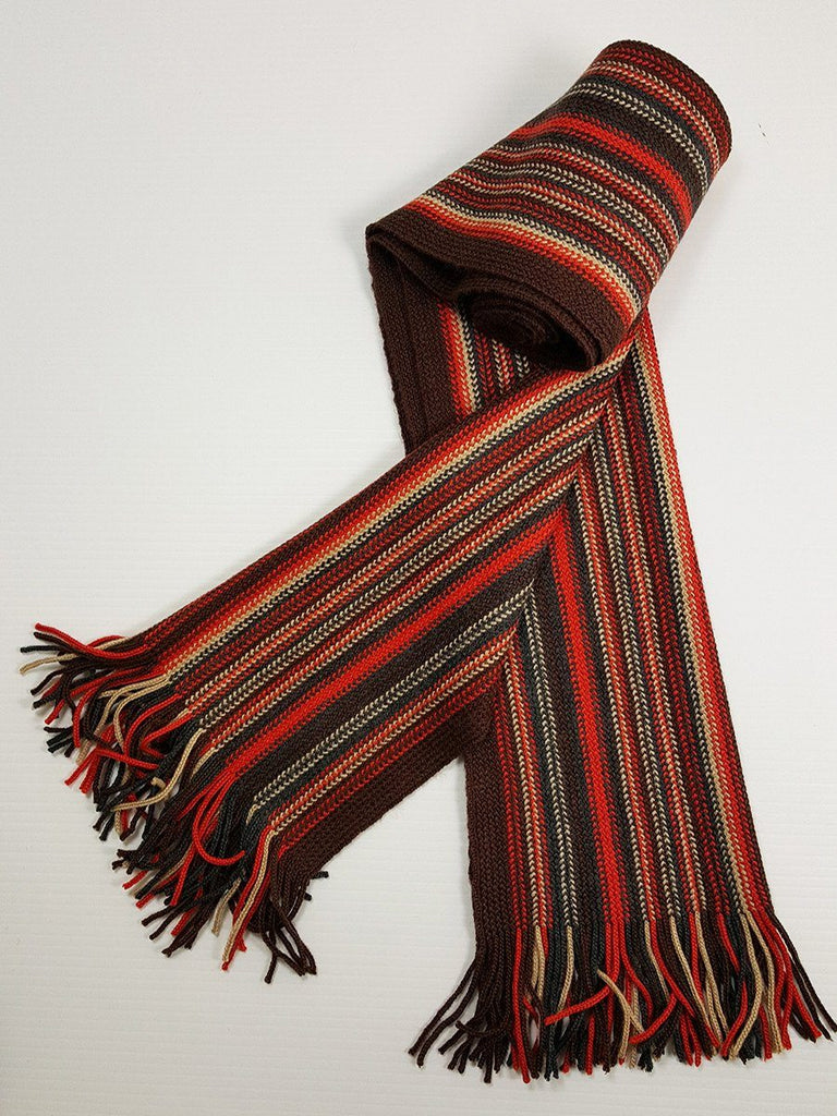 Young Men's Scarf 20931 Orange/Rust Young Mens Scarf Bruno Piattelli