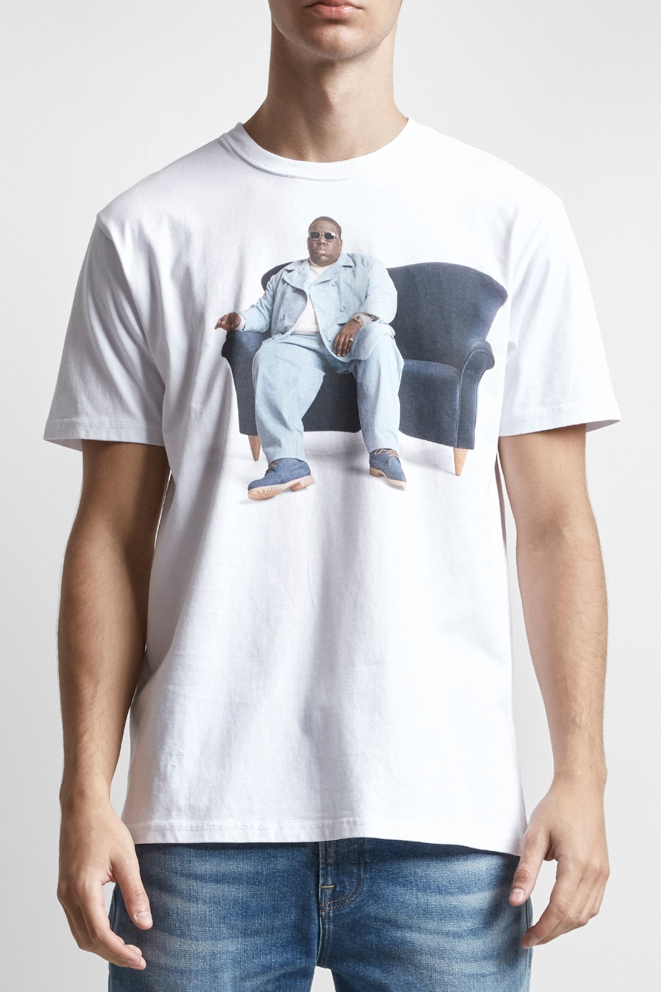 Biggie Couch Curtis T- White