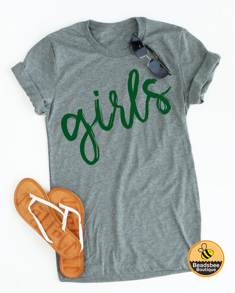 Copy of Girls Tee - Green