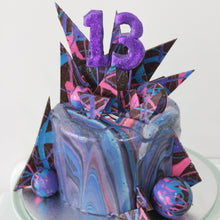 Load image into Gallery viewer, Galaxy Cake