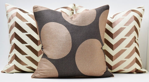 Mocha Lux Pillow - Ryan Studio