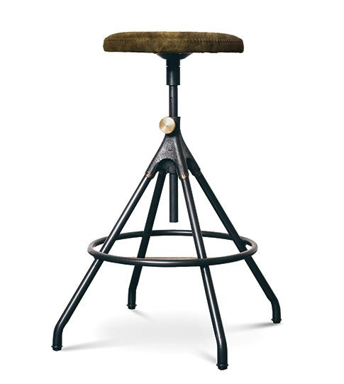 Akron Leather Counter Stool - Nuevo Living