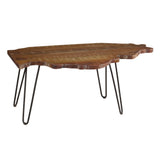 Illinois Coffee Table, Rustic Gray Wash