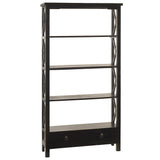 Allison Bookcase Large, Black