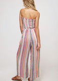 Striped 'Amy' Jumpsuit with Pockets