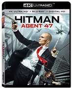 Hitman: Agent 47 [4K Ultra HD + Blu-ray + Digital HD]  (Digitally Mastered in HD) 2016 03-01-16 Release Date