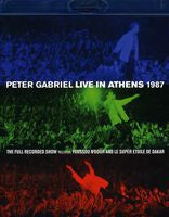 Peter Gabriel: Live In Athens 1987 DVD 2013 2 Disc Edition