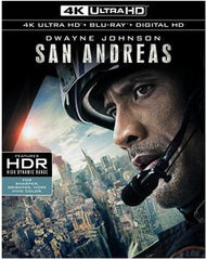San Andreas [4K Ultra HD + Blu-ray + Digital HD]  03-01-16 Release Date