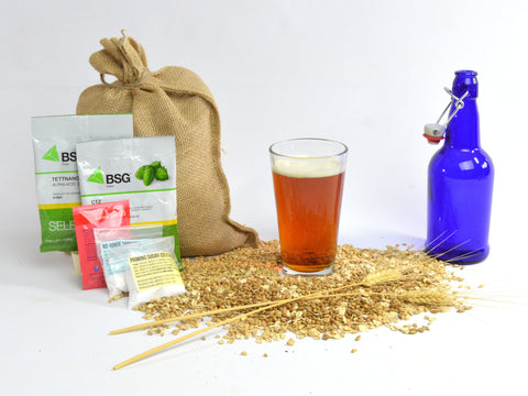 All Hopped Up Amber Ale - One Gallon Recipe Pack