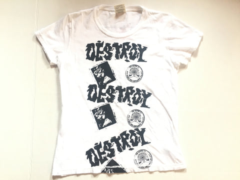 Multi / Test Print Tee Pirates vs Seditionaries DESTROY T-Shirt