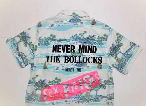 Sex Pistols Punk Hawaiian Shirt - Never Mind the Bollocks