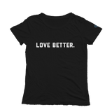 Love Better v. 2 Short Sleeve Tee - Black