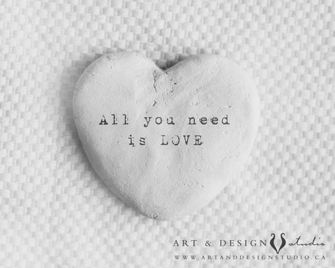 all you need is love - love art print