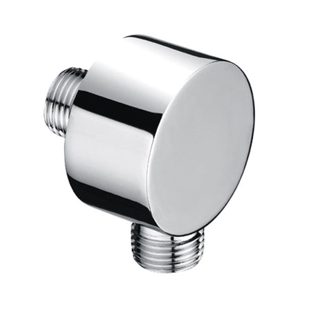 BAI 0160 Wall Mounted Round Shower Hose Water Supply in Polished Chrome Finish