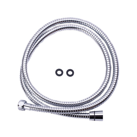 BAI 0188 Super-Flex Stainless Steel Shower Hose in Polished Chrome Finish