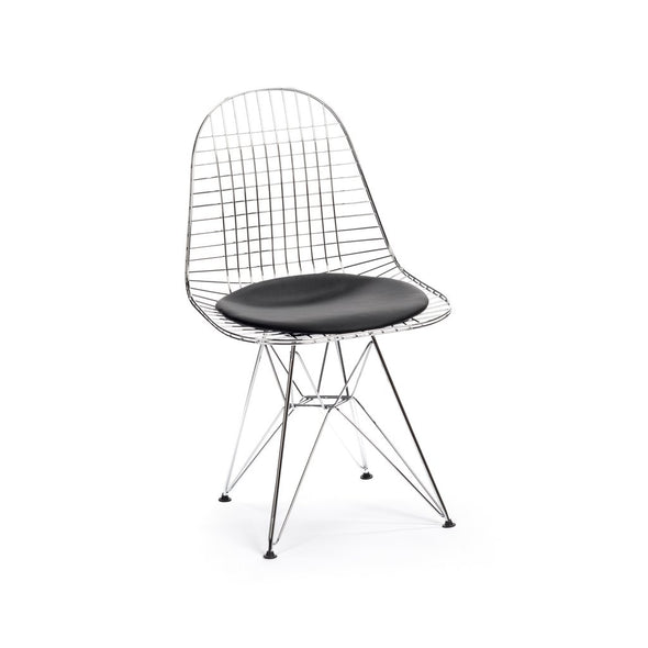 Eames DKR Eiffel Chair chrome/black