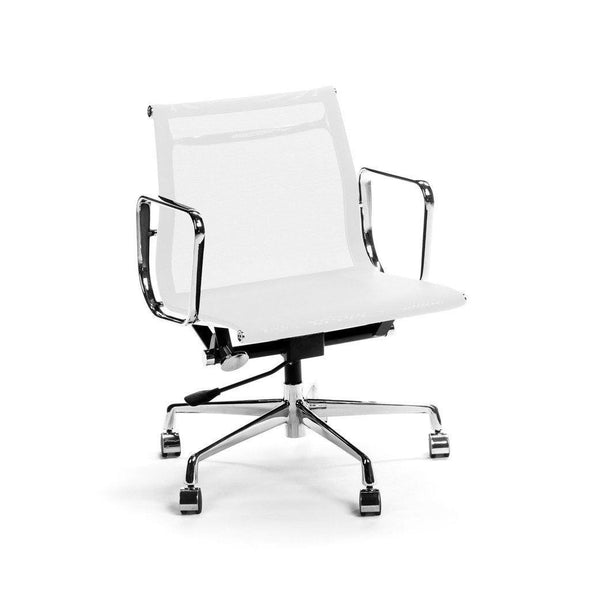 White Eames Management Chair