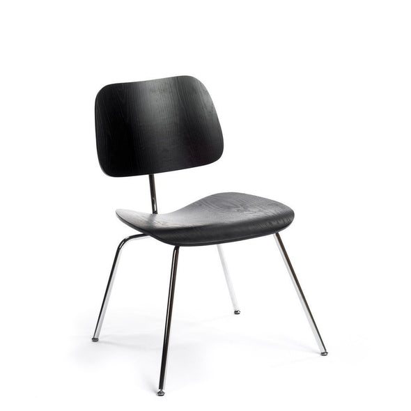 Black Eames DCM Chair