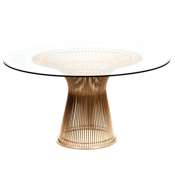 Platner Dining Table Gold