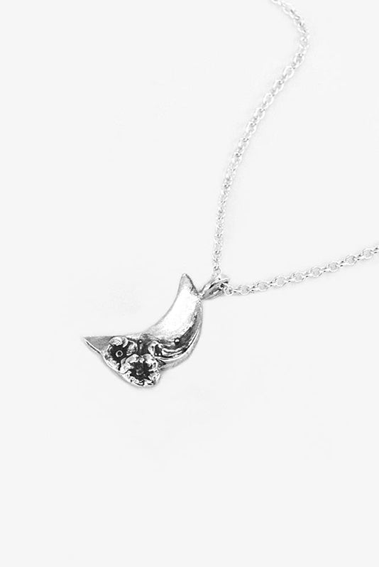 Moon Sterling Necklace - Silver Spoon Jewelry