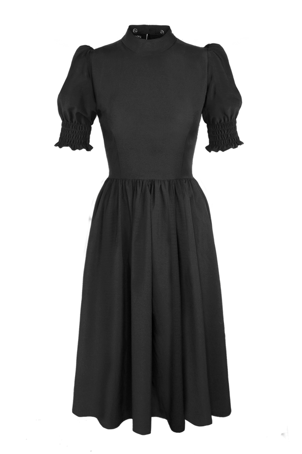 JAQUETTE SHIRRED DRESS [Cult Collar Collection]