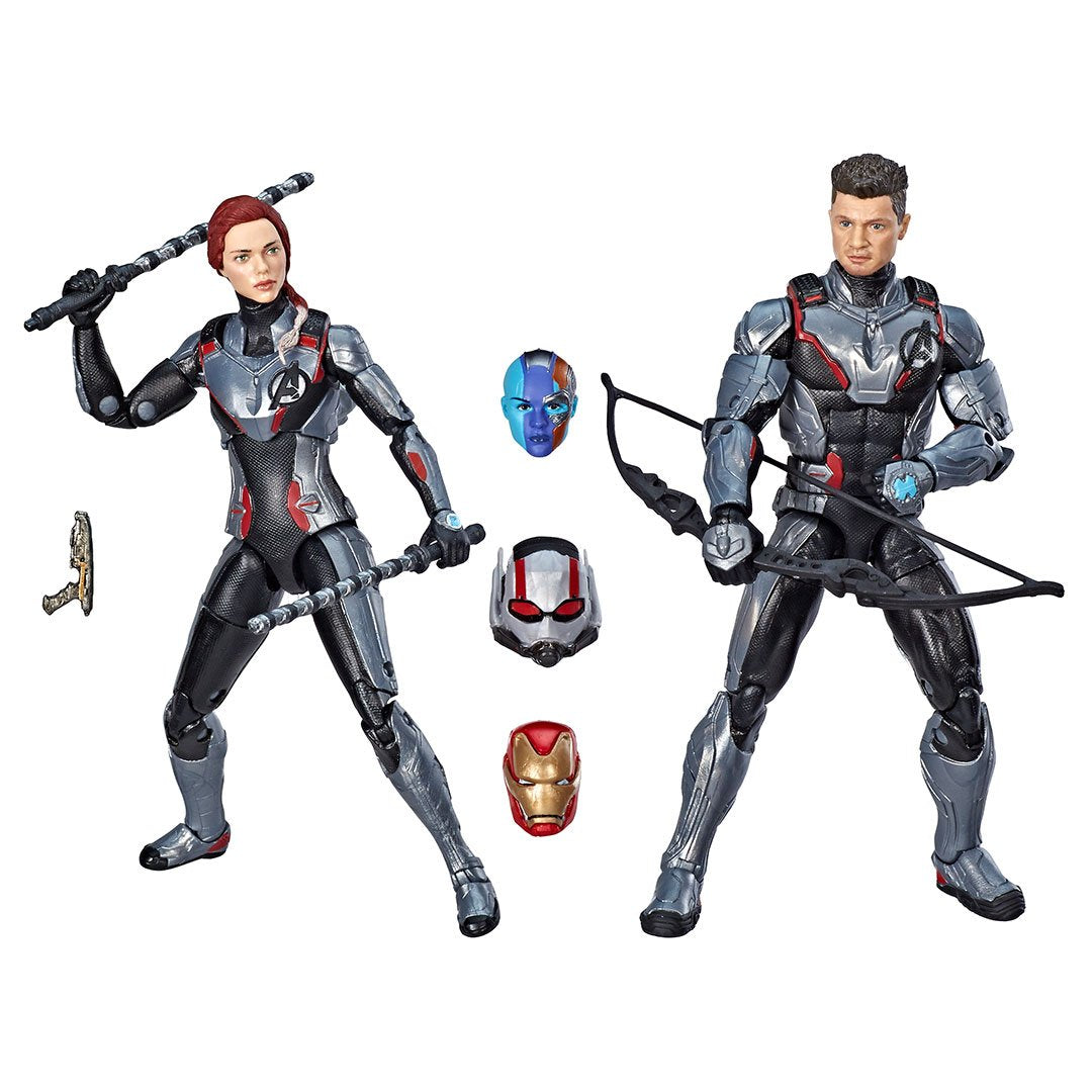 Avengers Endgame Black Widow & Hawkeye 2 Pack by Hasbro