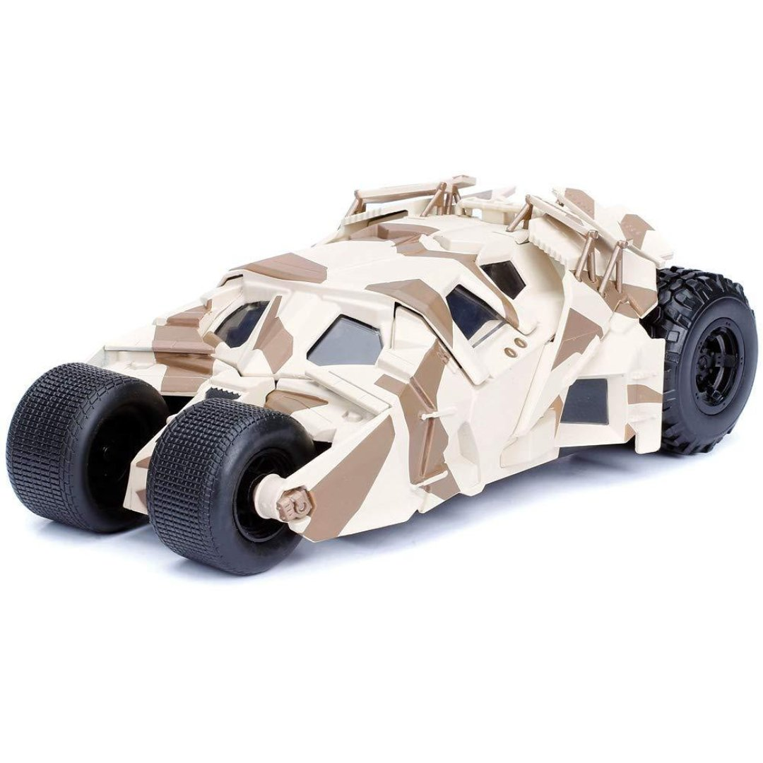 Batman The Dark Knight 1:24 Scale Metal Die-cast Camo Batmobile Tumbler by Jada Toys