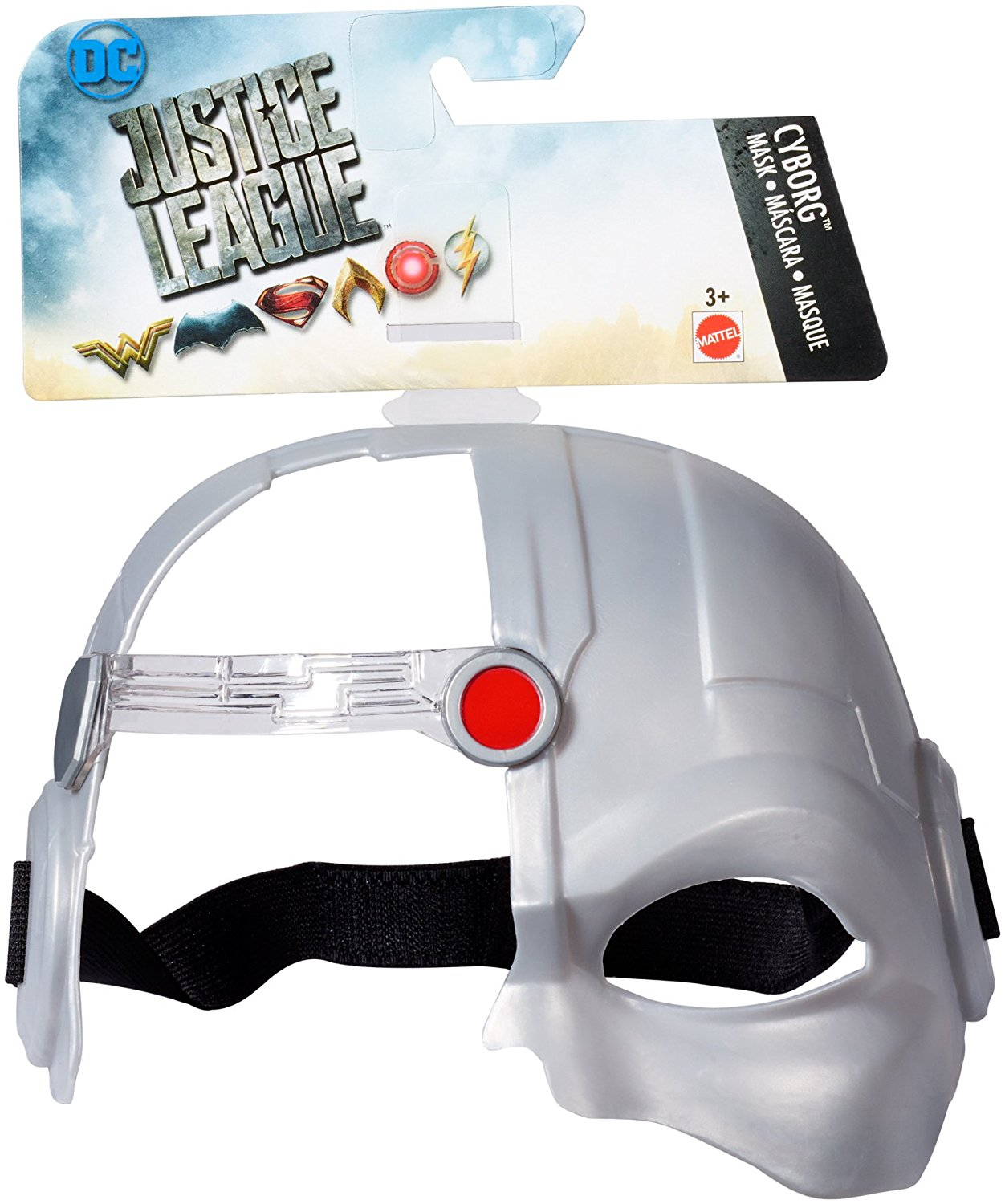 Justice League Movie: Cyborg Mask by Mattel