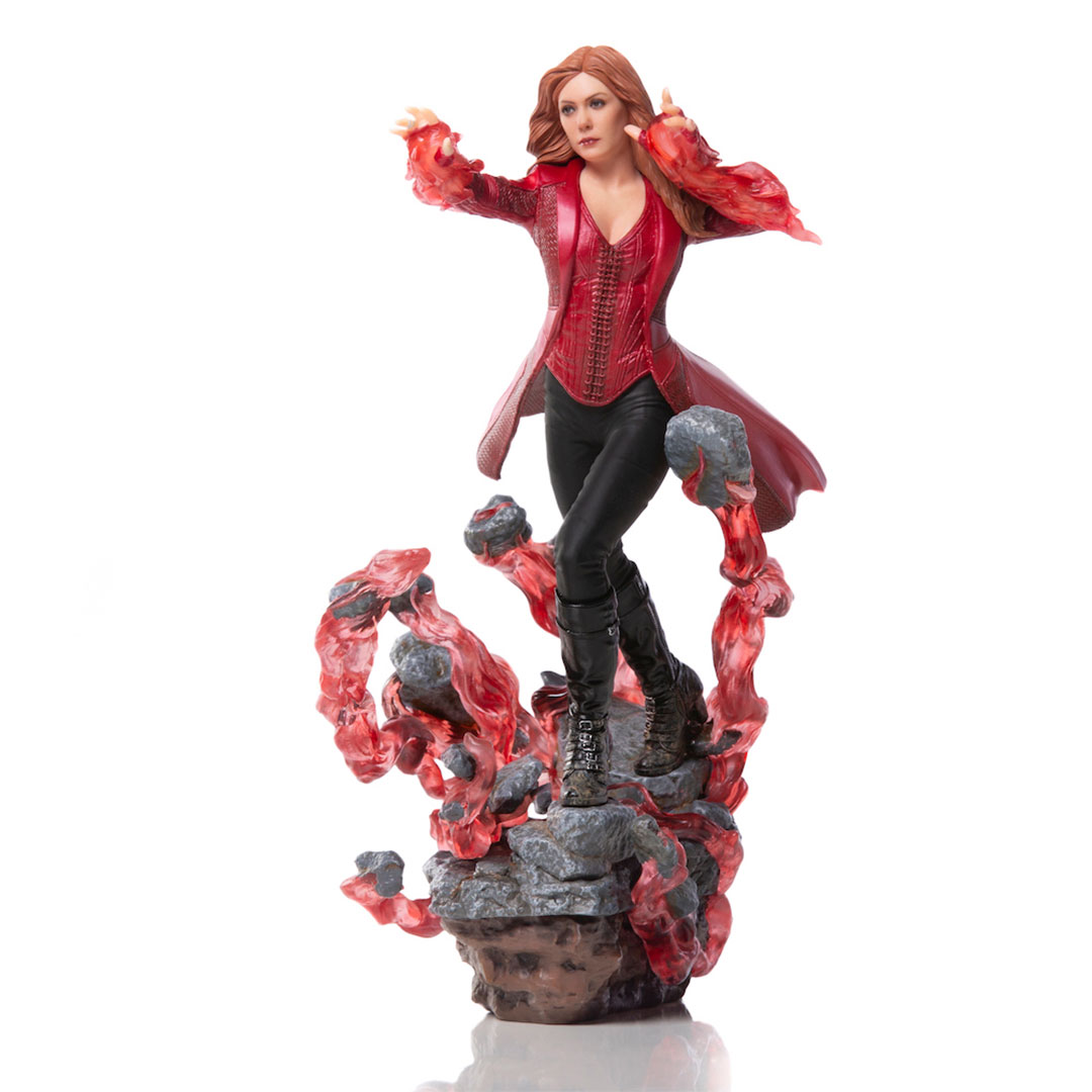 Avengers Endgame Scarlet Witch 1:10th Scale Statue by Iron Studios