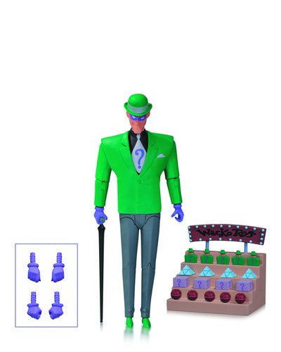 Batman Animated Series: Riddler Action Figure by DC Collectibles-DC Collectibles- www.superherotoystore.com-Action Figure - 3