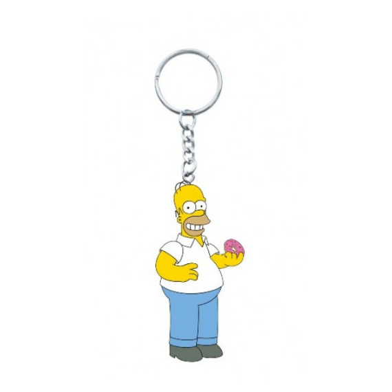 Homer Simpsons Figural Keychain by Monogram International