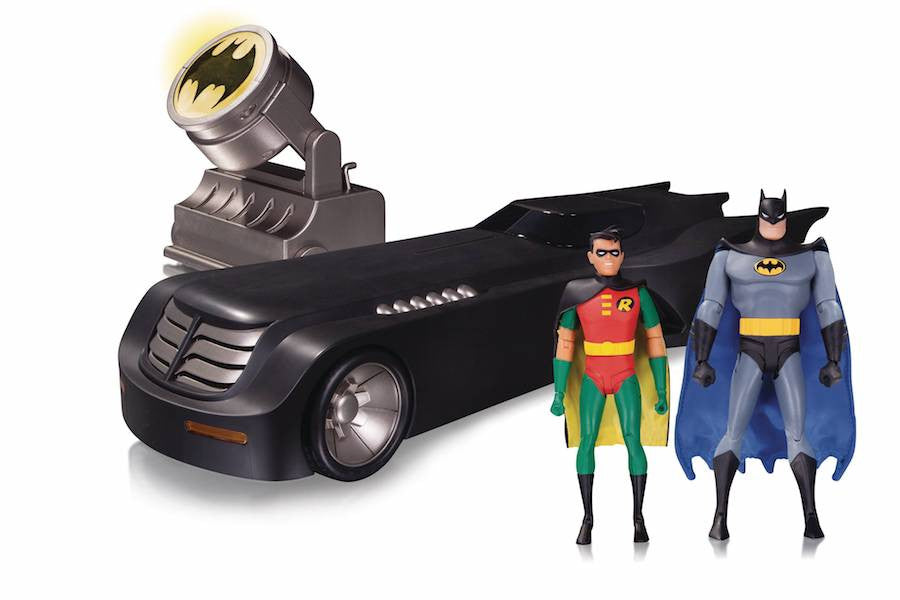 Batman The Animated Series Deluxe Batmobile by DC Collectibles-DC Collectibles- www.superherotoystore.com-Action Figure - 1