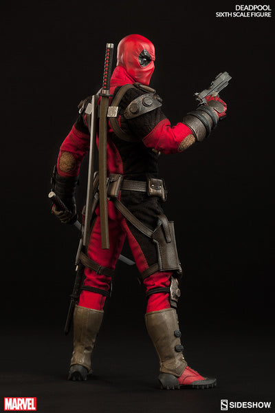 Deadpool 1/6th Scale Action Figure by Sideshow Collectibles-Sideshow Collectibles- www.superherotoystore.com-Action Figure - 5
