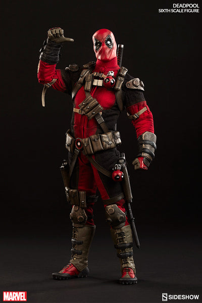 Deadpool 1/6th Scale Action Figure by Sideshow Collectibles-Sideshow Collectibles- www.superherotoystore.com-Action Figure - 3