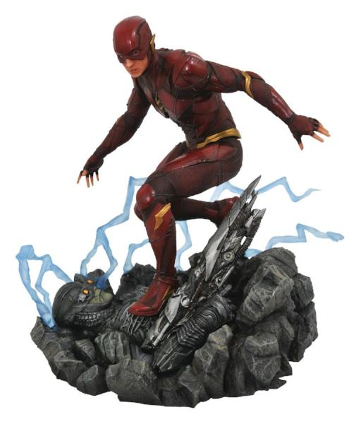 DC Comics Gallery Justice League Movie Flash Statue by Diamond Select India