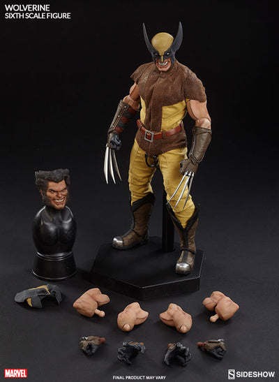Wolverine Sixth Scale Action Figure-Sideshow Collectibles- www.superherotoystore.com-Action Figure - 11