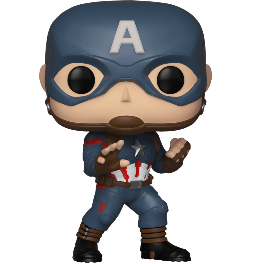 Avengers Endgame Captain America Vinyl Bobble-Head by Funko