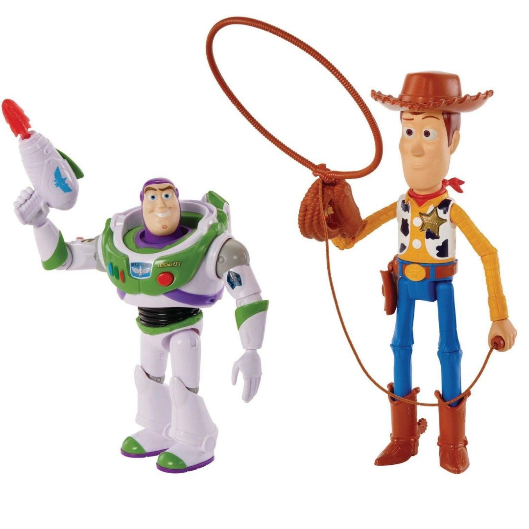 Toy Story Woody & Buzz Lightyear Arcade 2 Pack by Mattel