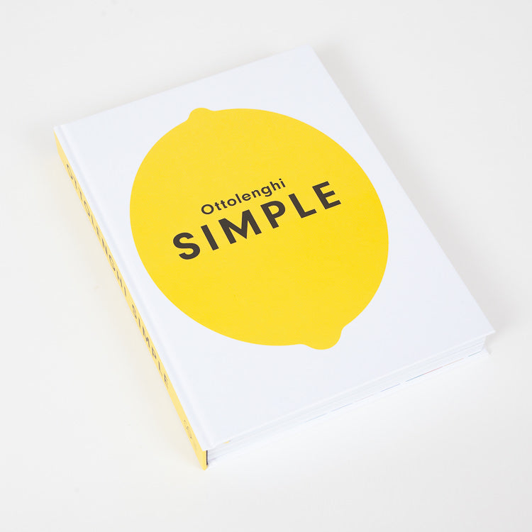 Product shot of Ottolenghi Simple book