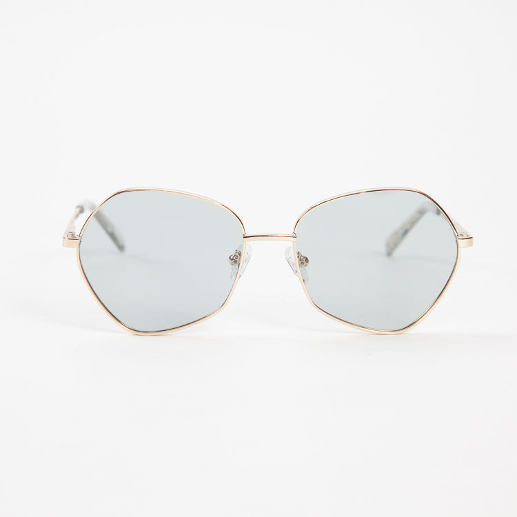 Le Specs Escadrille Gold Glasses
