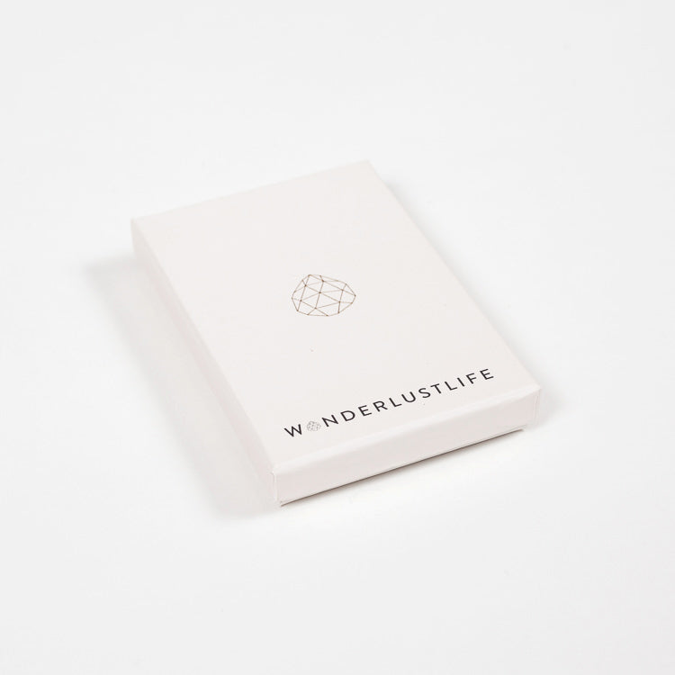 Product shot: Wanderlust Life Necklace gift box
